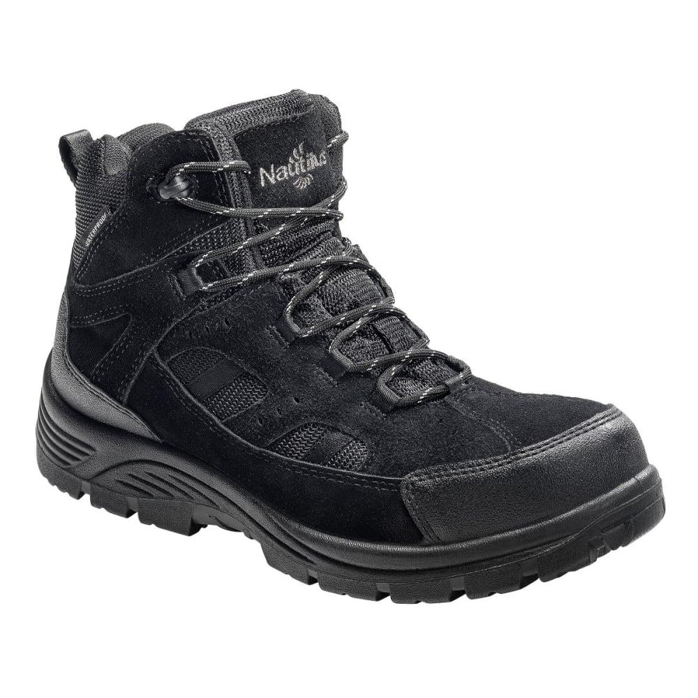NAUTILUS Men's 9548 Comp Toe Waterproof EH Work Boots, Black, Wide - BLACK