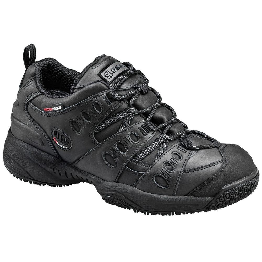 SKIDBUSTER Men's 5052 Waterproof Athletic Work Shoes, Black, Wide - BLACK