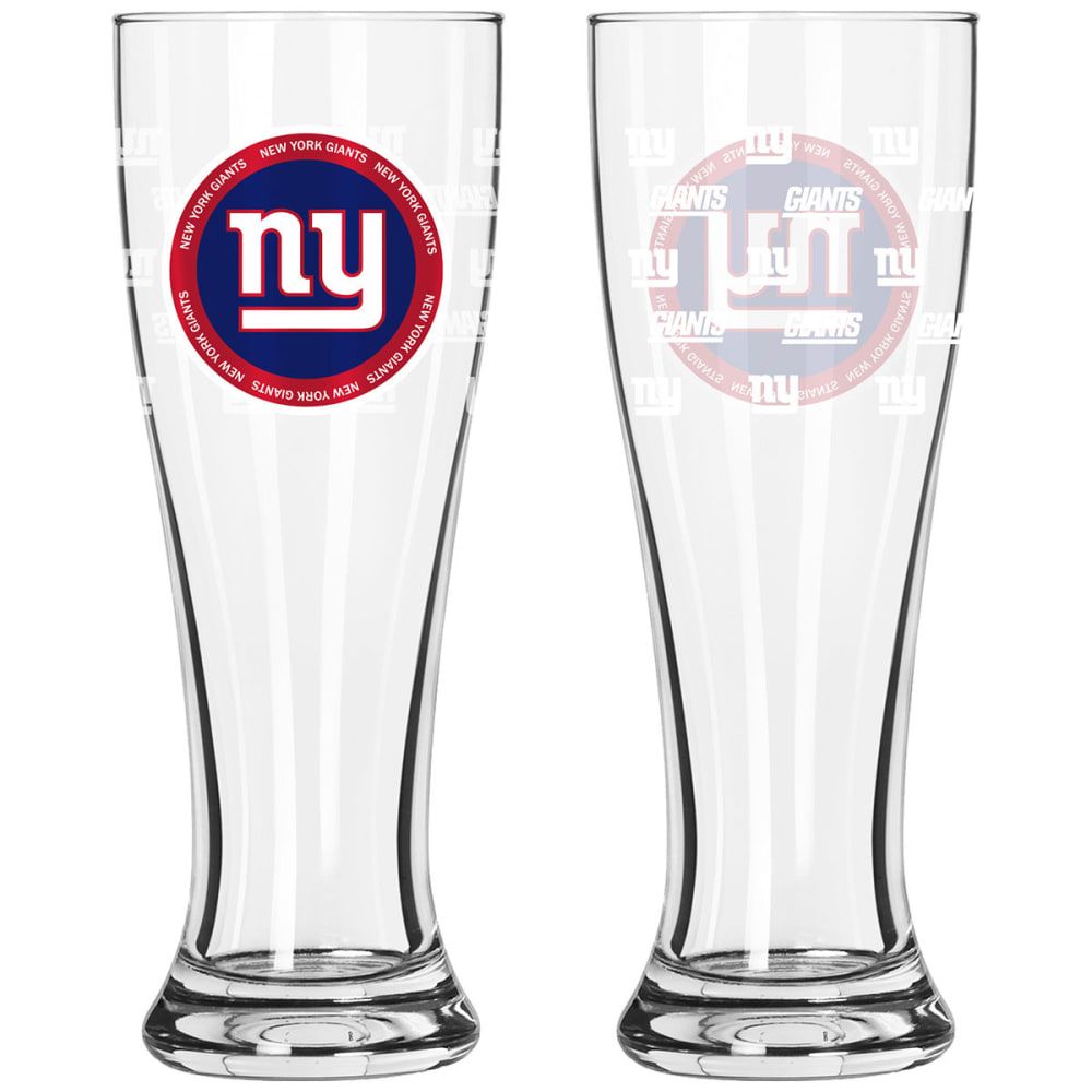 NEW YORK GIANTS 16 oz. Ring of Honor Pilsner Glass - NO COLOR