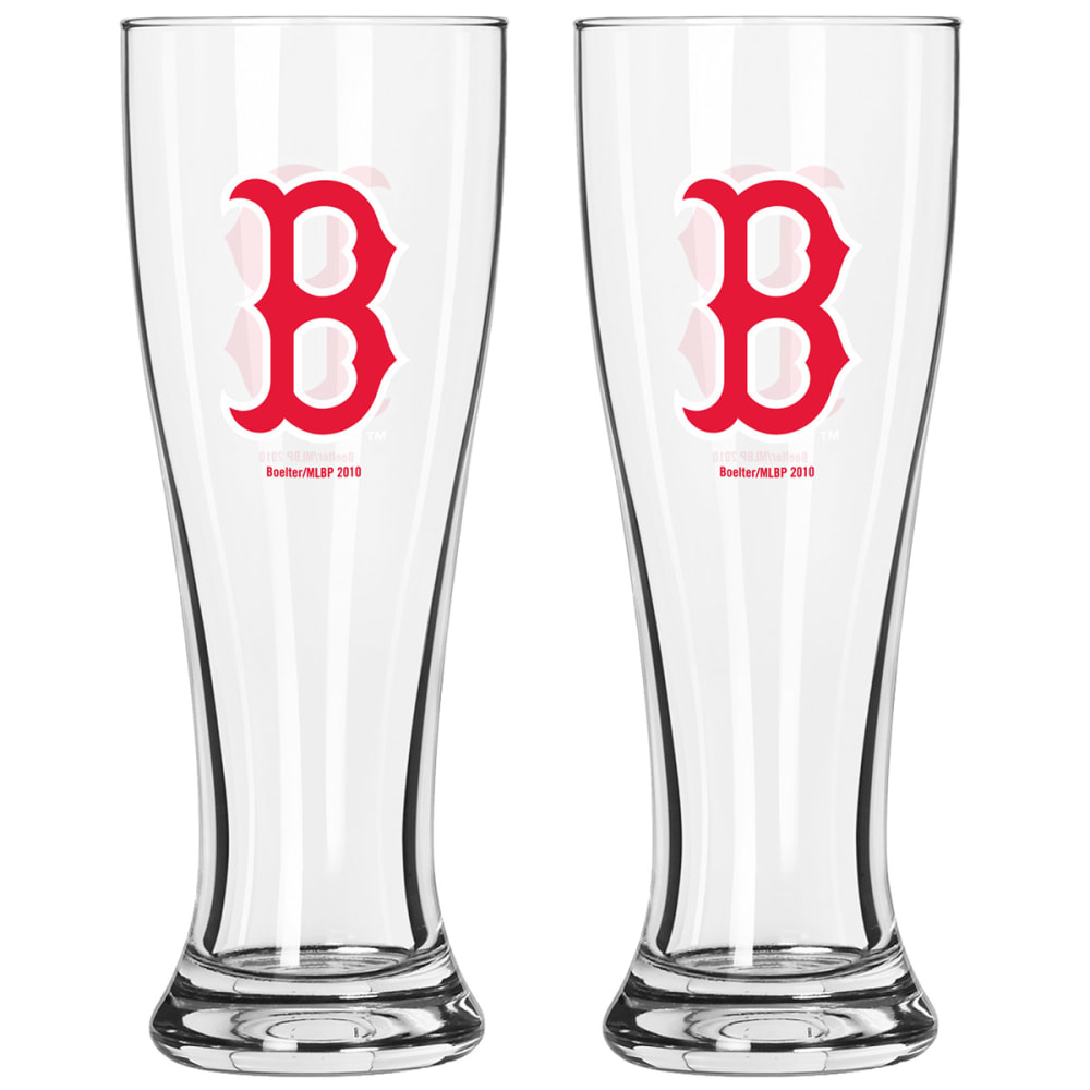 BOSTON RED SOX Pilsner Glass - NO COLOR