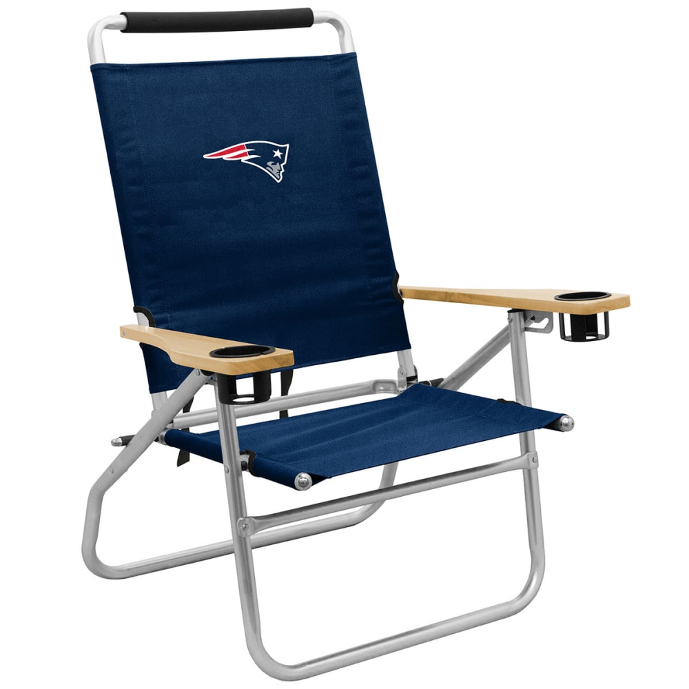 NEW ENGLAND PATRIOTS Beach Chair - NAVY