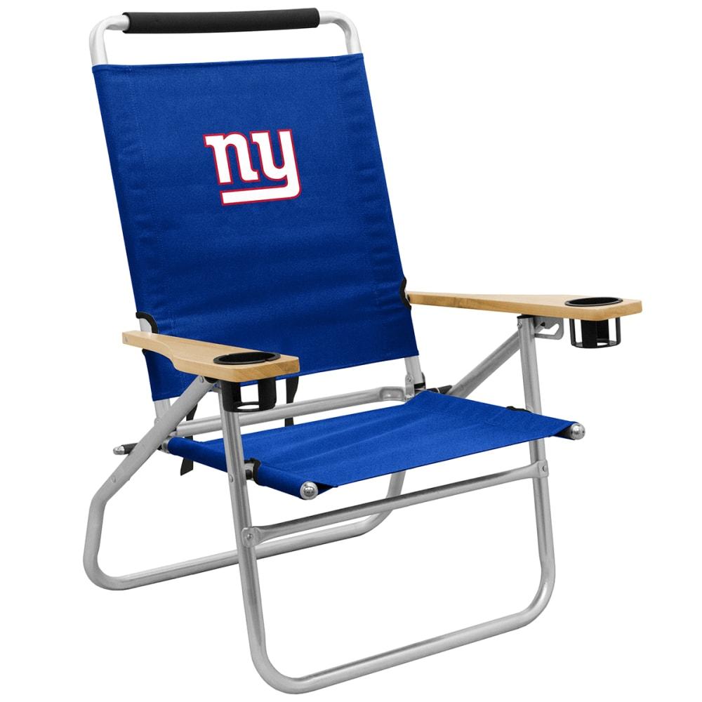 NEW YORK GIANTS Beach Chair - ROYAL BLUE