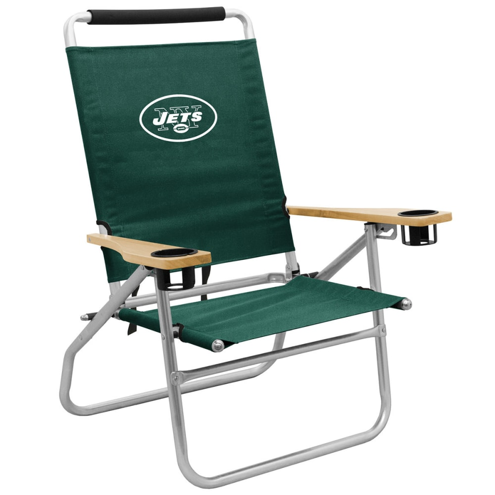 NEW YORK JETS Beach Chair - GREEN