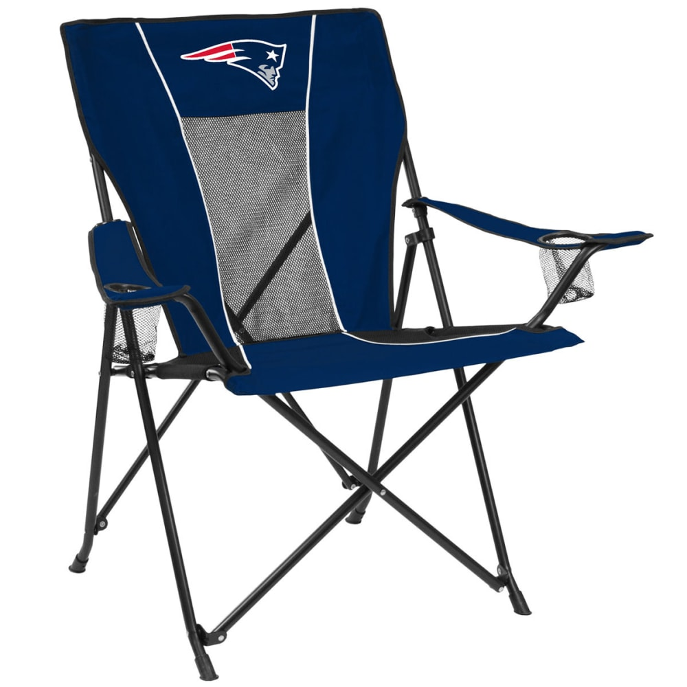 NEW ENGLAND PATRIOTS Game Time Chair - NAVY