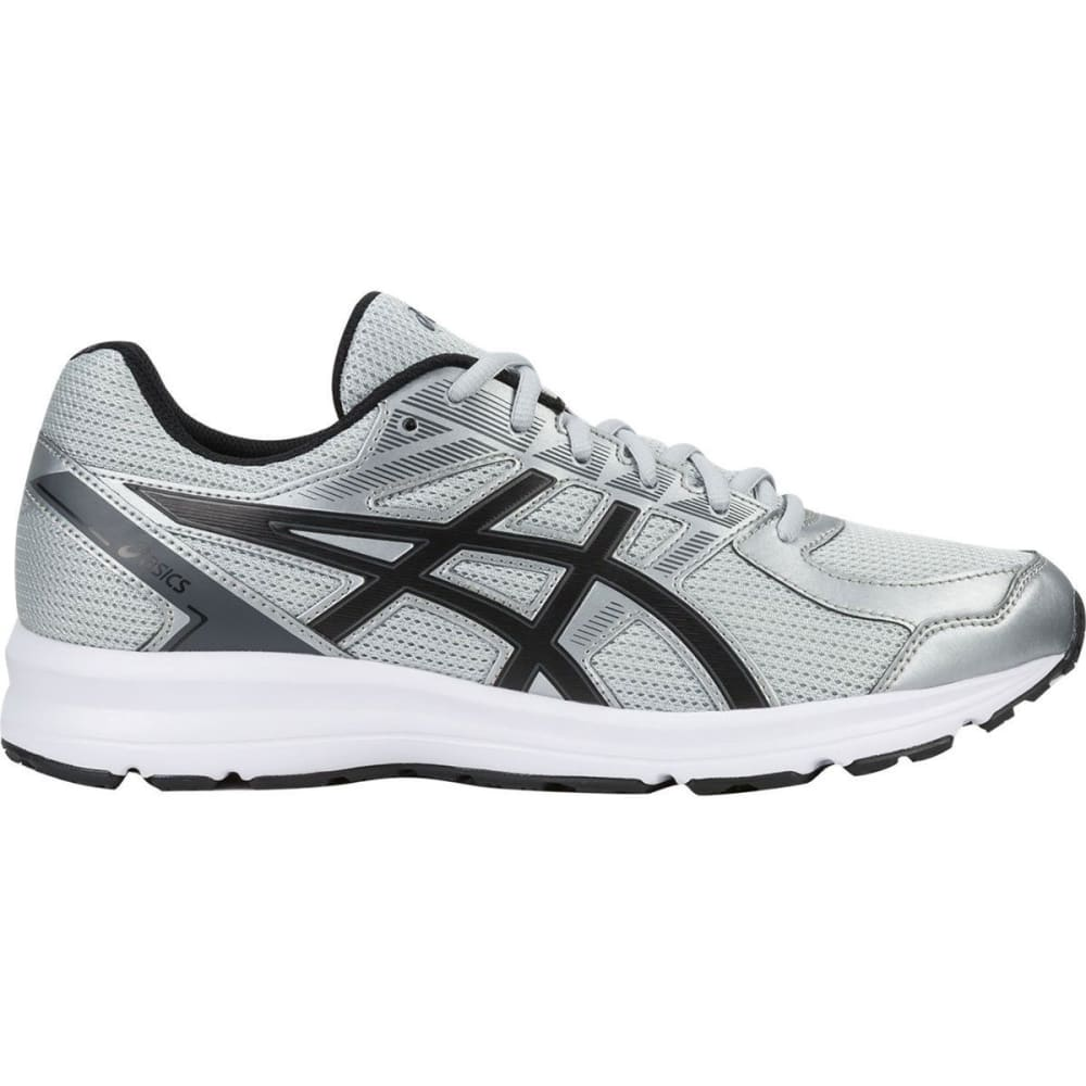 ASICS Men's Jolt Running Shoes, Glacier Grey/Black/Carbon, Wide - GREY
