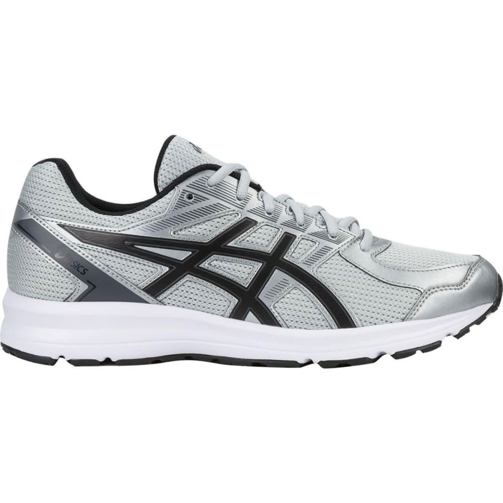 ASICS Men's Jolt Running Shoes, Glacier Grey/Black/Carbon, Wide - GREY