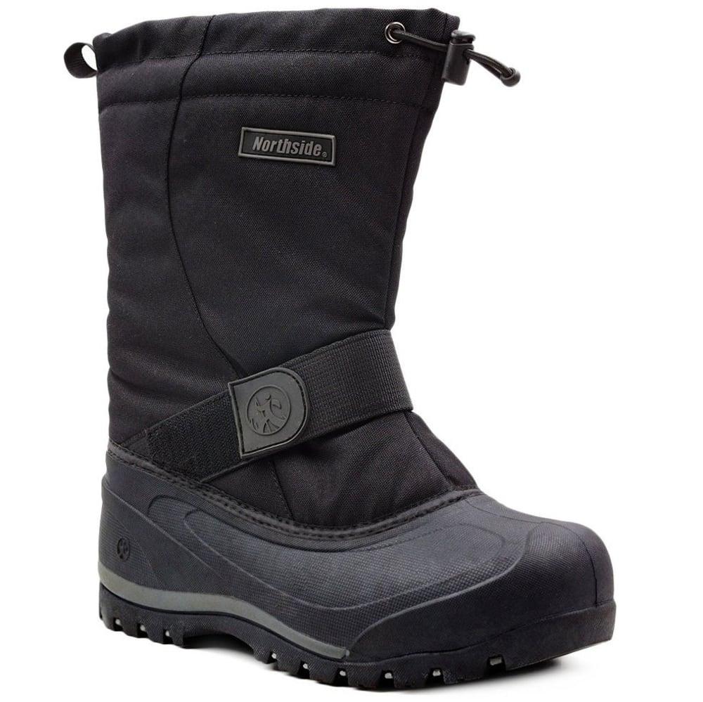 NORTHSIDE Men's Alberta II Waterproof Insulated Tall Storm Boots - BLACK ONYX