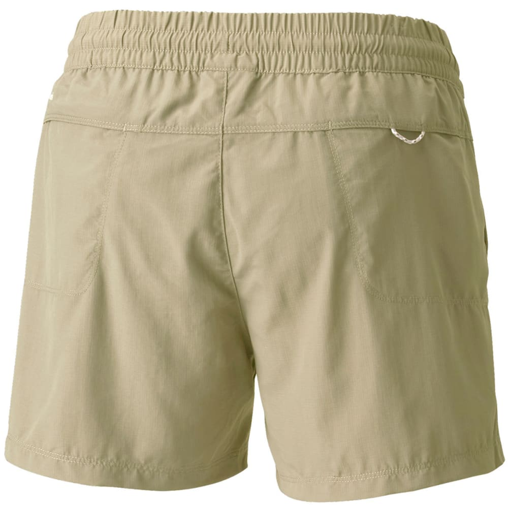 COLUMBIA Women's Silver Ridge Pull-On Shorts - 221-TUSK