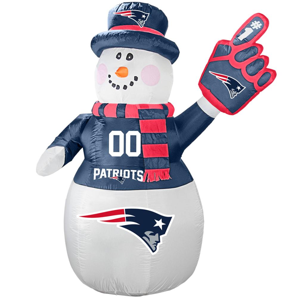 NEW ENGLAND PATRIOTS Inflatable Snowman - NO COLOR