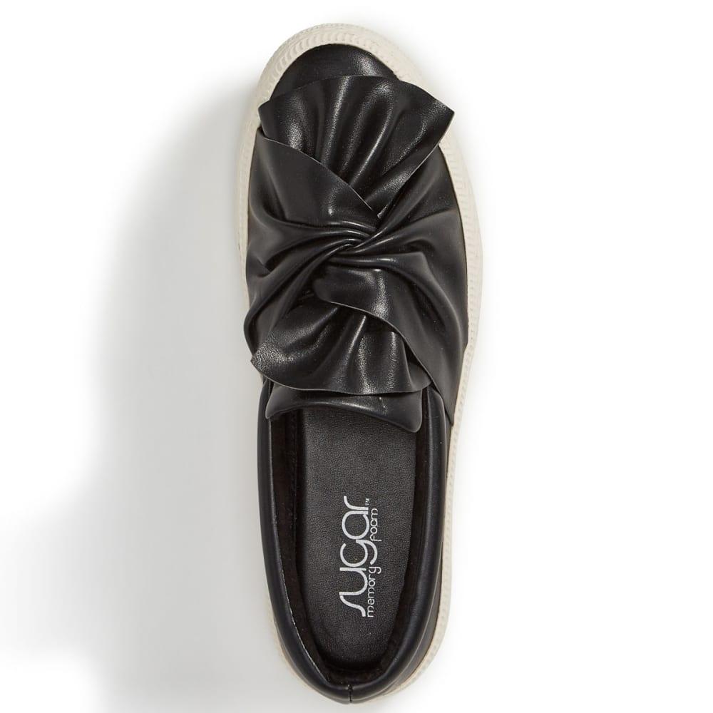 SUGAR Women's Gonzo Slip-On Sneakers, Black - BLACK