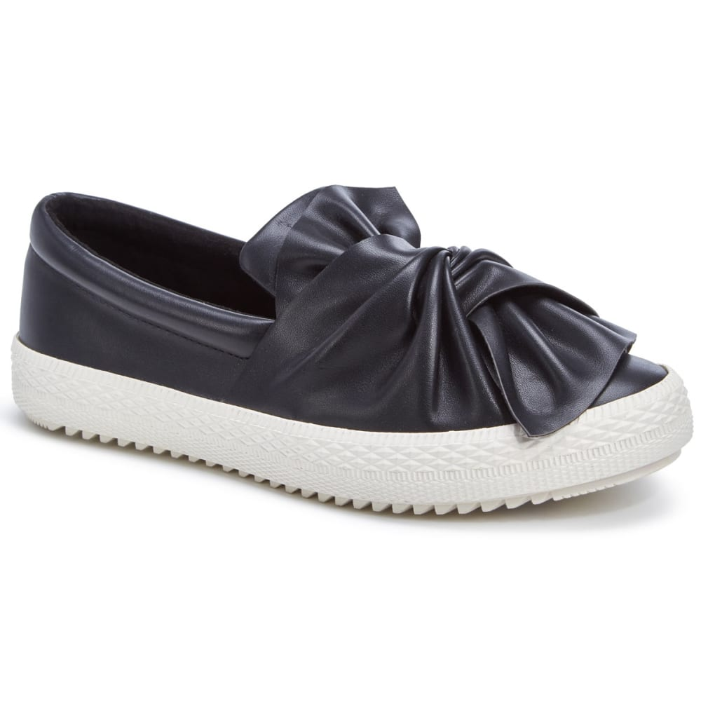 SUGAR Women's Gonzo Slip-On Sneakers, Black - BLACK