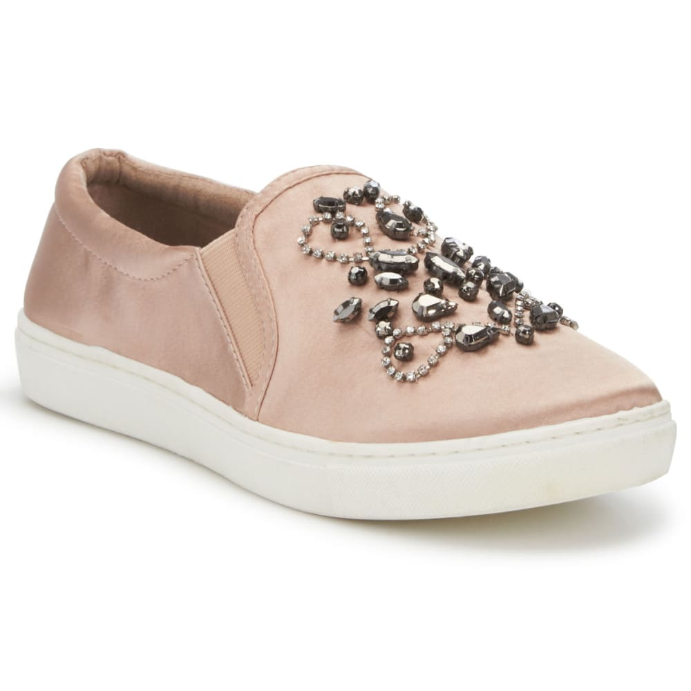 SUGAR Women's Grasshopper Slip-On Casual Shoes, Blush - BLUSH