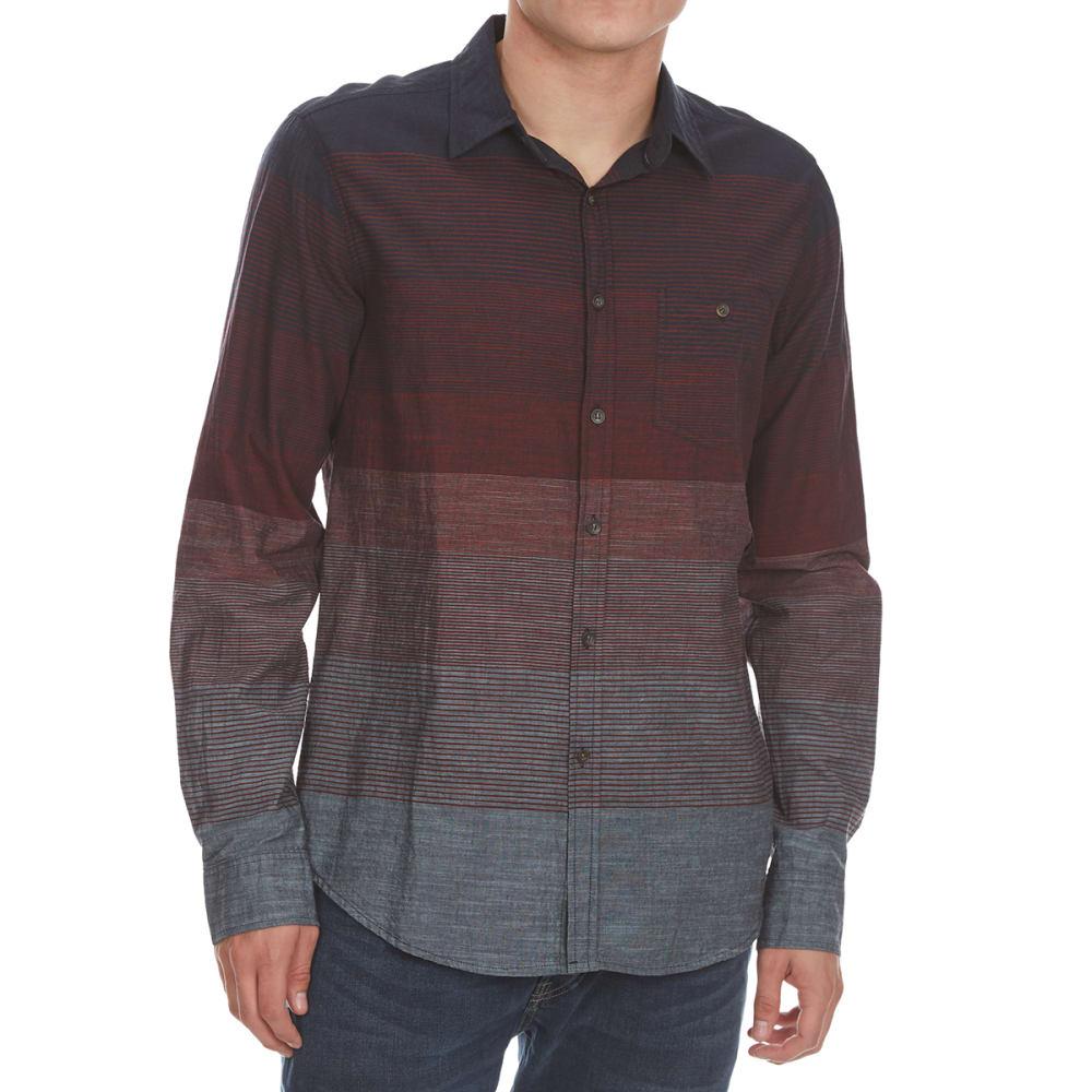 56be7400423dc OCEAN CURRENT Guys  Highsystem Gradient Stripe Woven Long-Sleeve Shirt