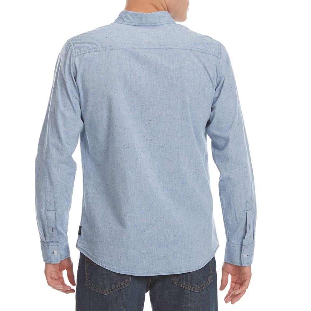 OCEAN CURRENT Guys' Earthgiven Solid Woven Shirt - NEWPORT HTR