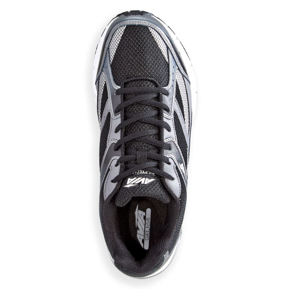 AVIA Men's Avi-Execute Running Shoes, Black/Frost Grey/White - BLACK