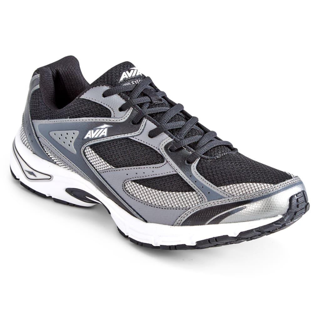 AVIA Men's Avi-Execute Running Shoes, Black/Frost Grey/White - BLACK