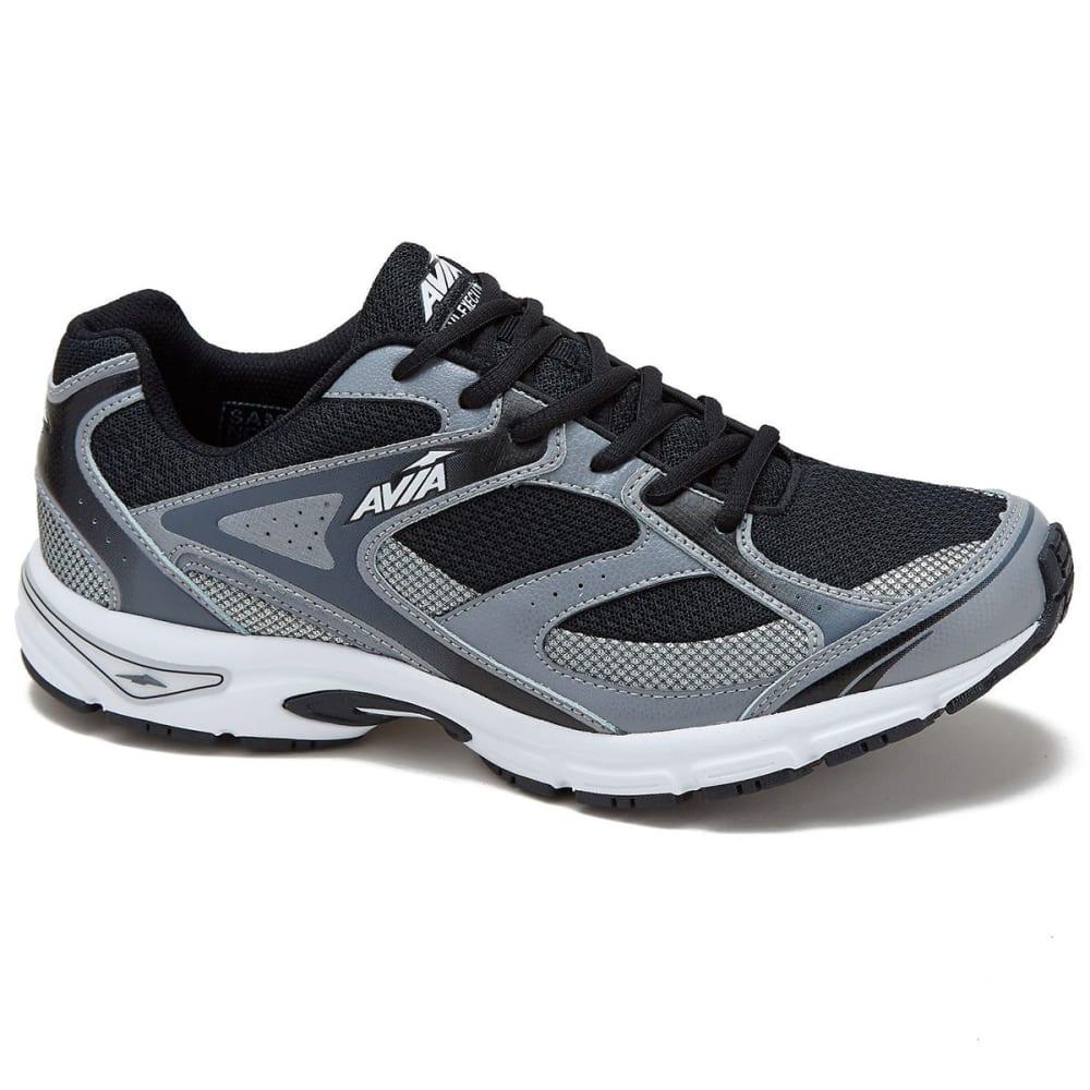AVIA Men's Avi-Execute Running Shoes, Black/Frost Grey/White, Extra Wide - BLACK