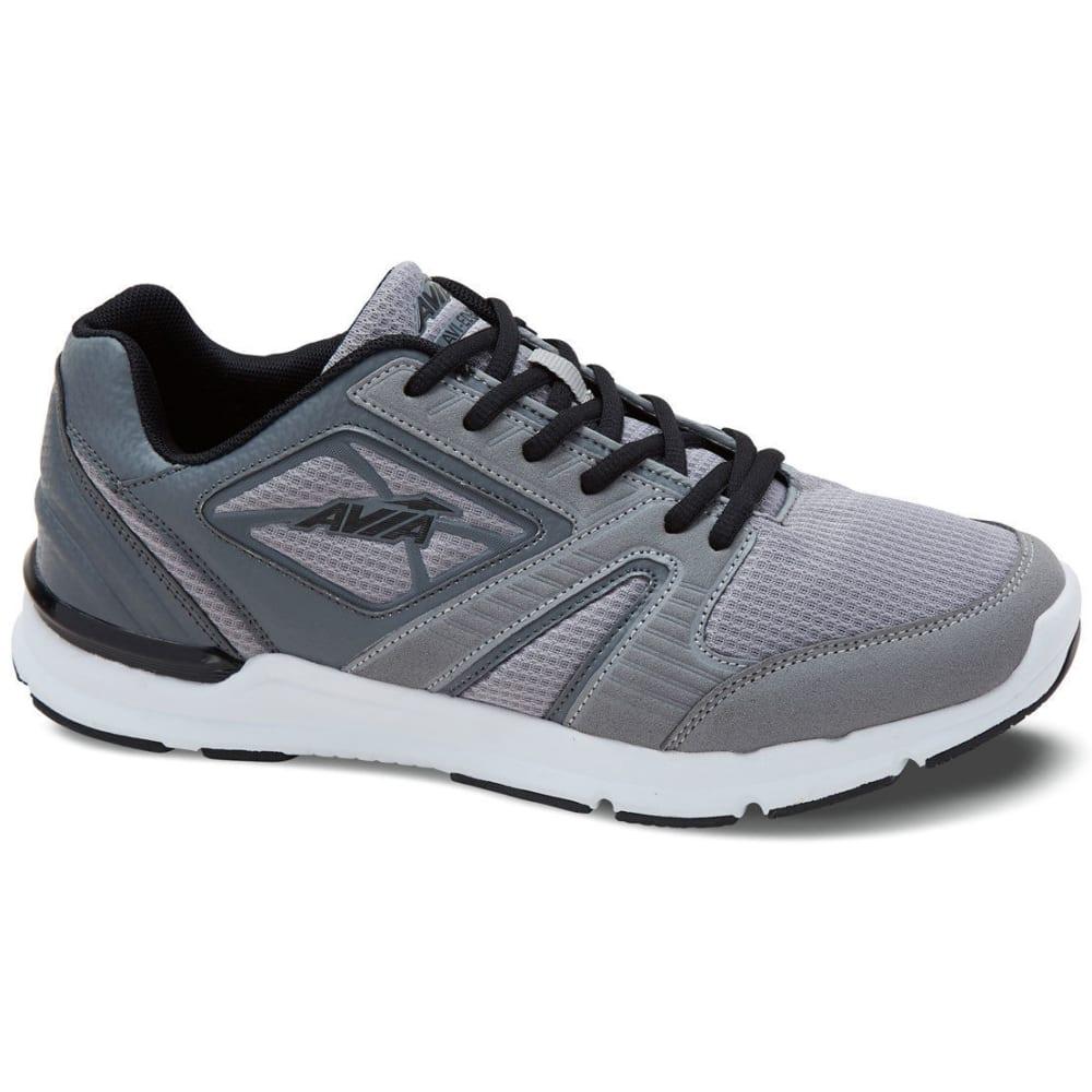 AVIA Men's Avi-Edge Cross-Training Shoes, Frost Grey/Steel Grey/Black, Wide 7
