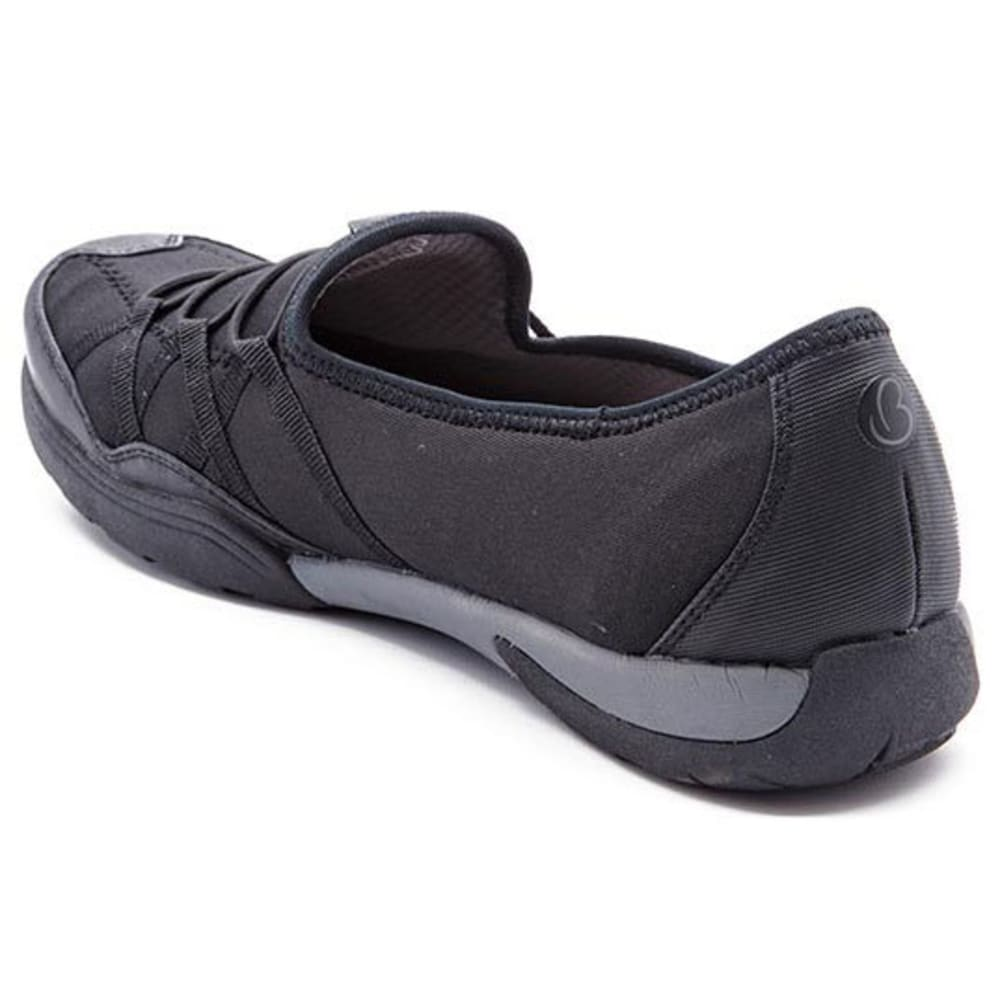 BARETRAPS Women's Holeigh Slip-On Casual Shoes, Black - BLACK