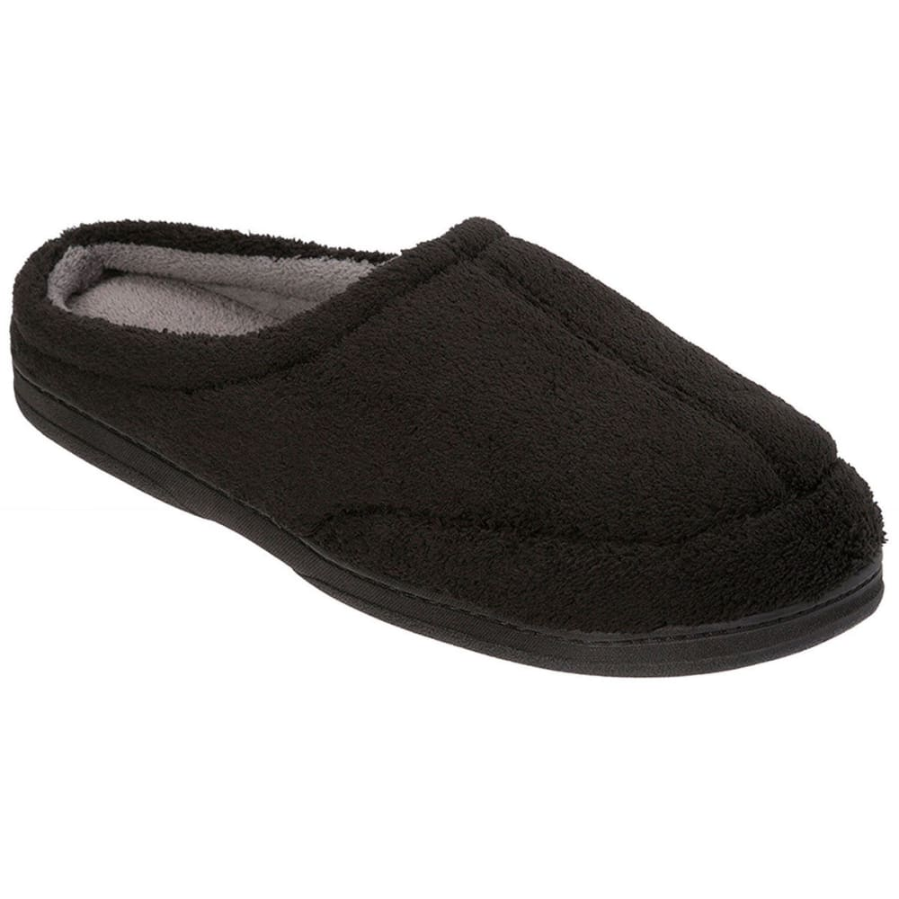 Dearfoams Men's Clog Slippers - Black, S