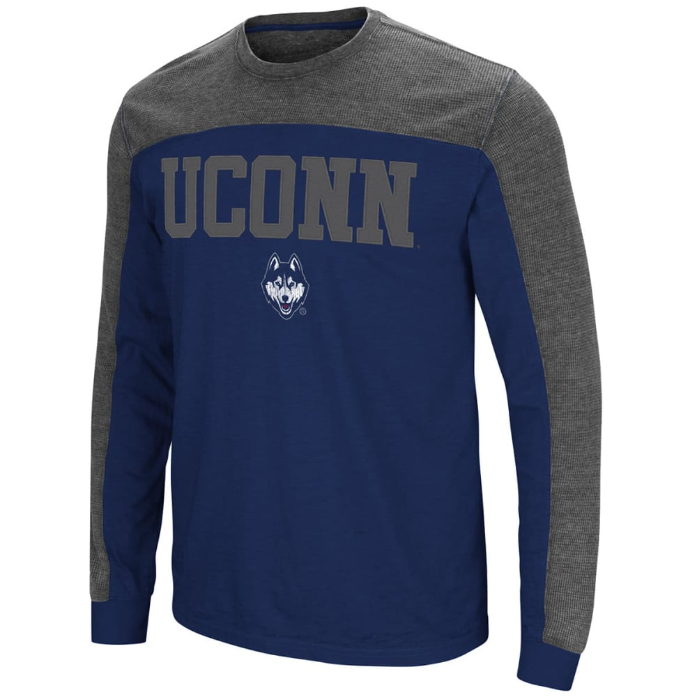UCONN Men's Express Yourself Long-Sleeve Tee - NAVY