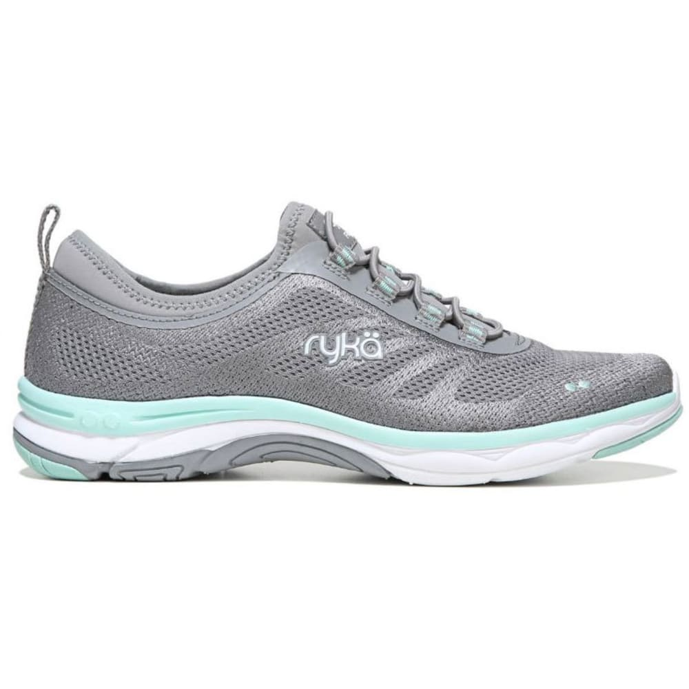RYKA Women's Fierce Walking Shoes, Frost Grey/Grey/Mint - GREY