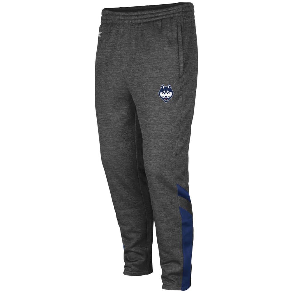 UCONN Men's Software Fleece Pants - CHARCOAL