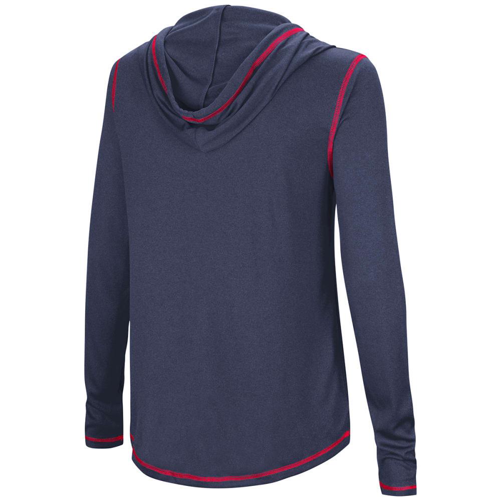 UCONN Women's Cloak Pullover Hoodie - NAVY