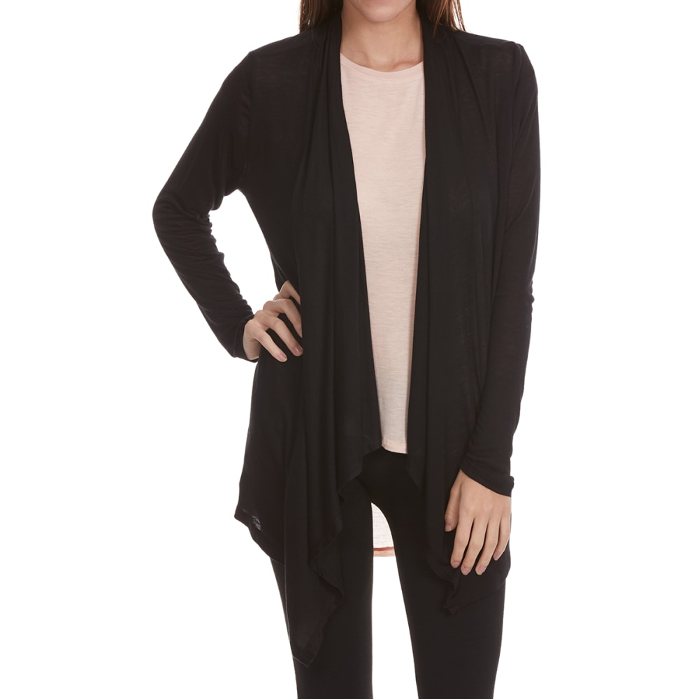 TRESICS Women's Fly Away Long-Sleeve Cardigan - BLACK