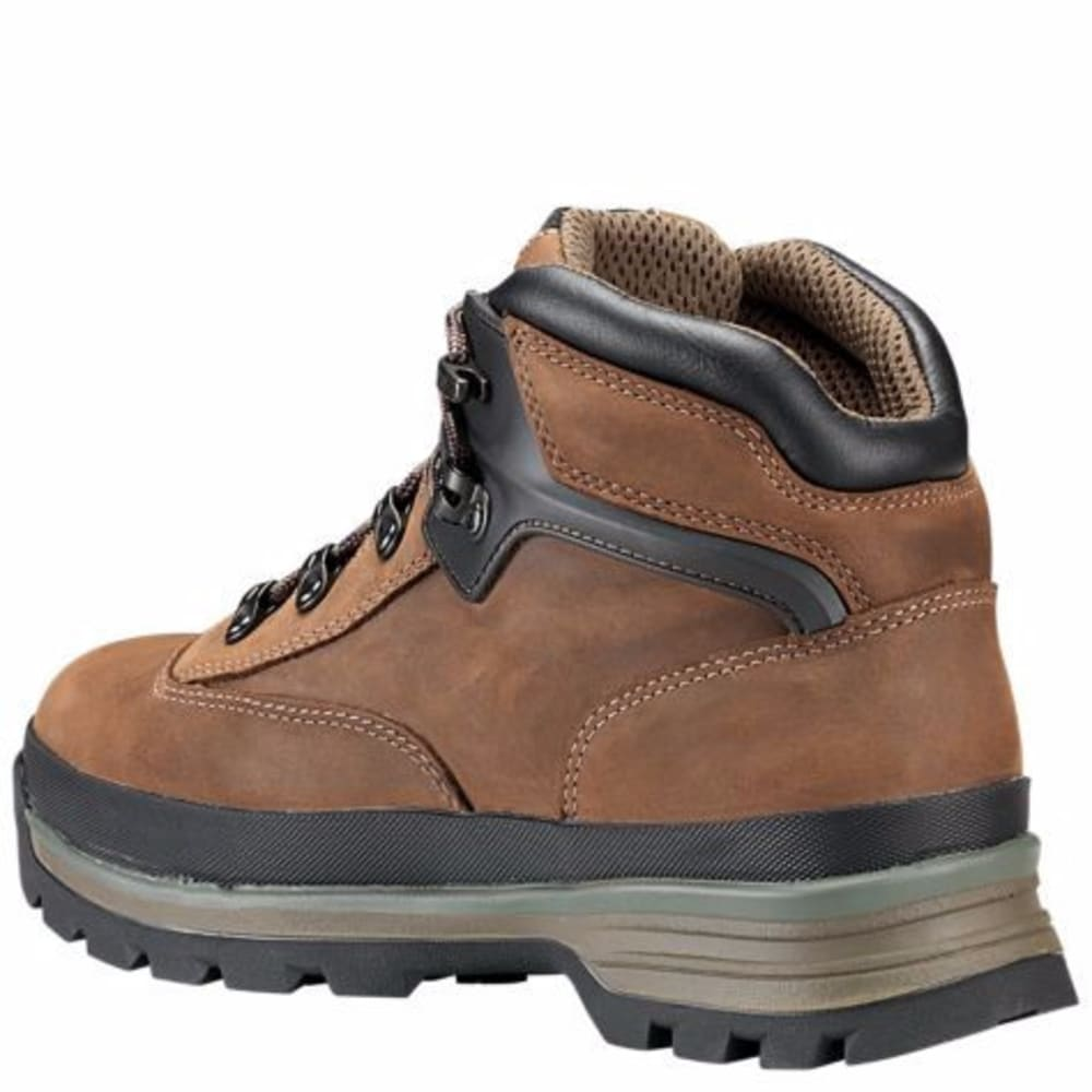 TIMBERLAND PRO Men's Euro Hiker Alloy Toe Work Boots - 214 BROWN FG LEATHER
