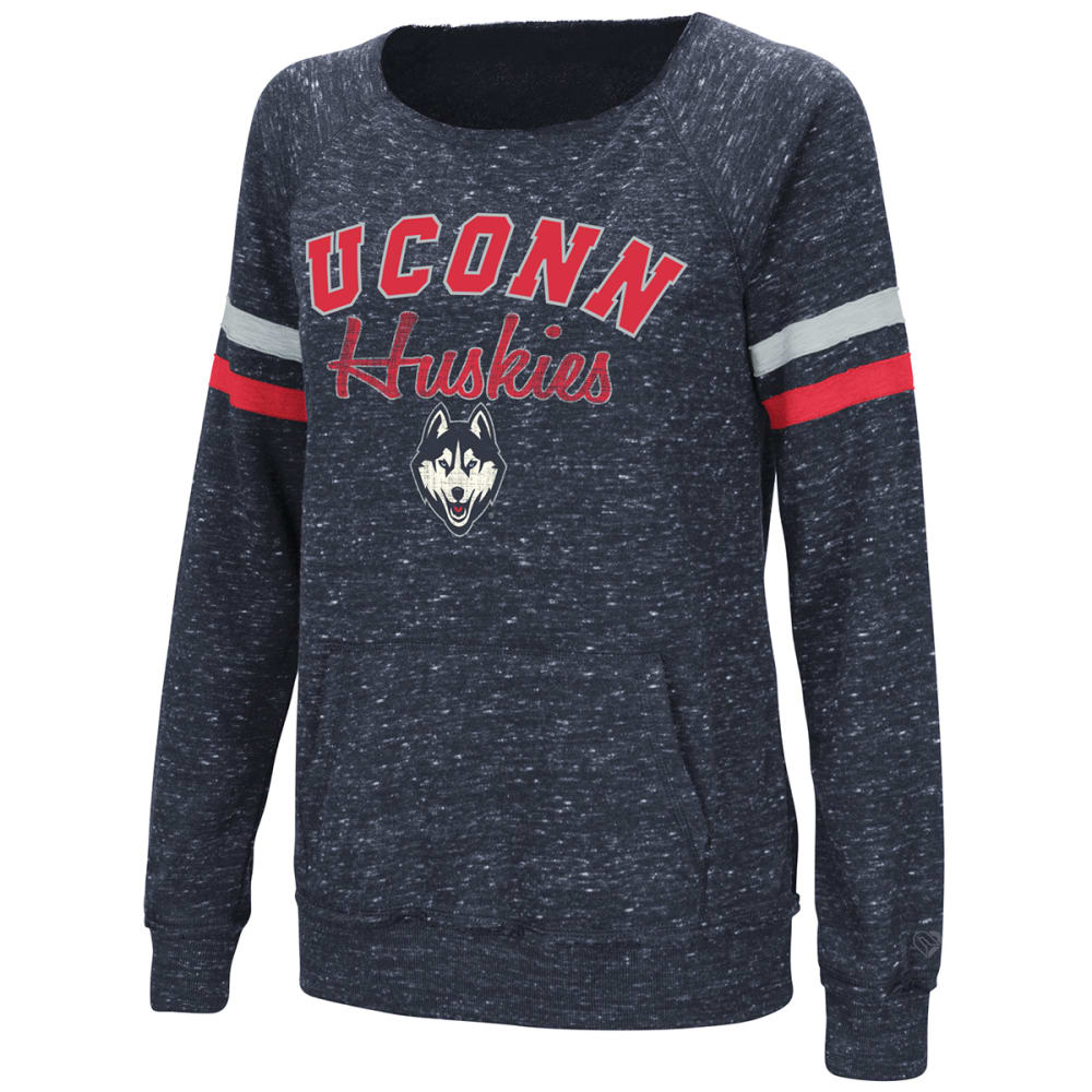 Uconn Women's Stormin The Castle Long-Sleeve Pullover - Blue, M