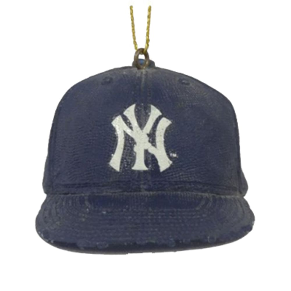 NEW YORK YANKEES Baseball Cap Ornament - NO COLOR