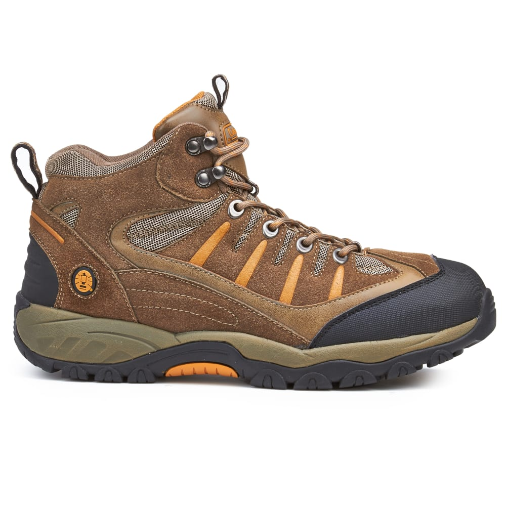 COLEMAN Men's Buckeye Waterproof Mid Hiking Boots, Taupe - TAUPE