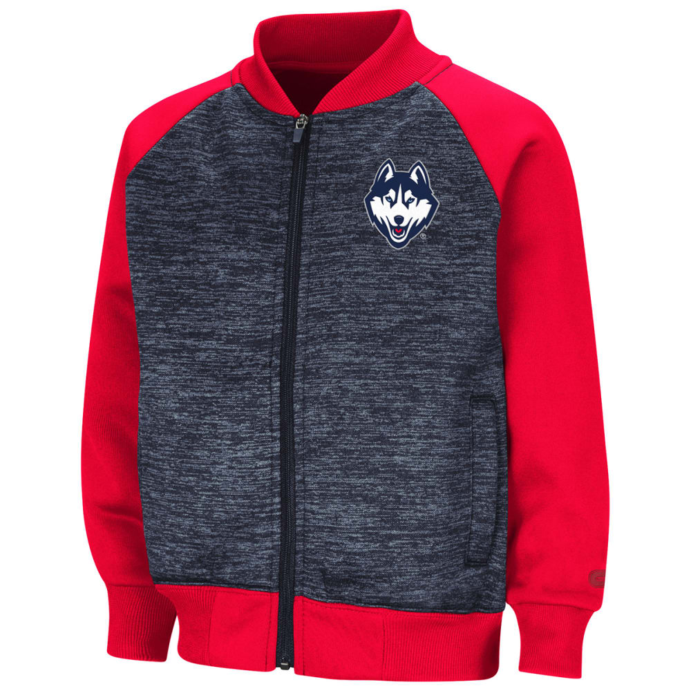 Uconn BoyS Toddler Goonies Fleece Bomber Jacket - Blue, 2T