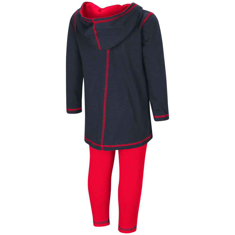 UCONN Toddler Girls' Slick Shirt and Leggings Set - NAVY