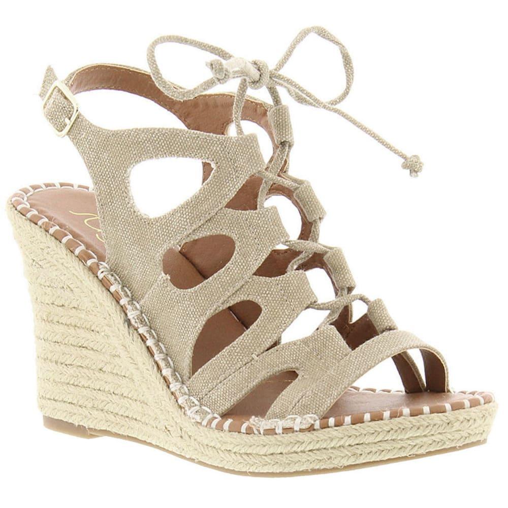 SUGAR Women's Hula Espadrille Wedge Sandals, Natural - NATURAL