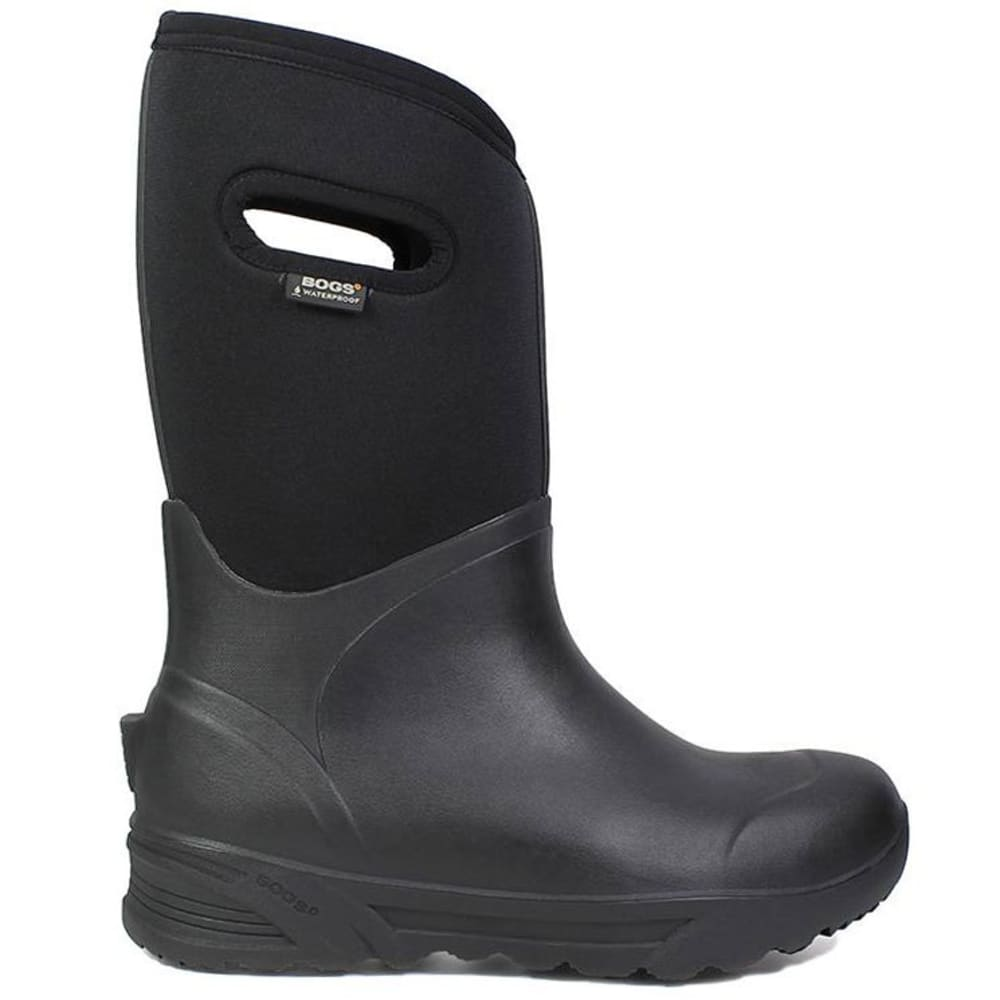 BOGS Men's Bozeman Tall Waterproof Winter Boots, Black - BLACK