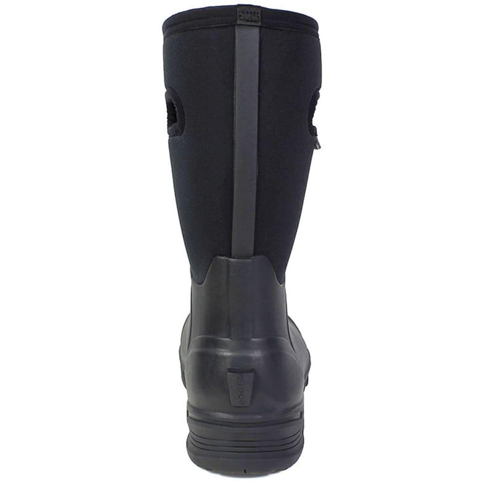 BOGS Men's Bozeman Tall Waterproof Winter Boots, Black - BLACK