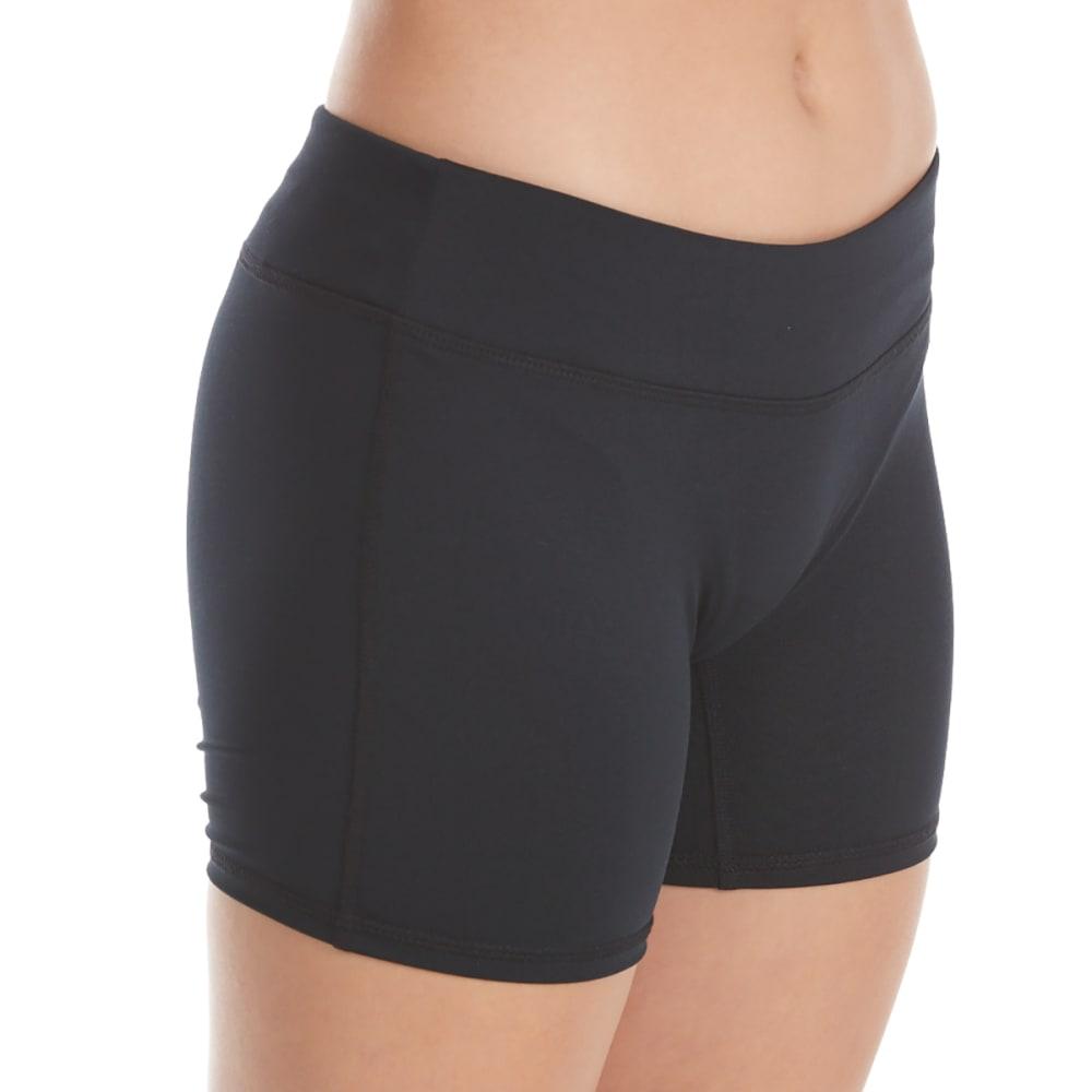 GAIAM Girls' Style Boy Shorts - BLACK
