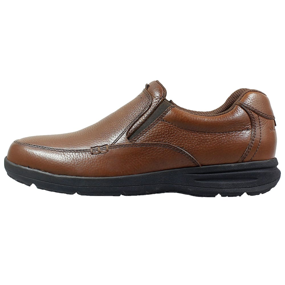 NUNN BUSH Men's Cam Moc Toe Slip-On Shoes, Cognac - COGNAC