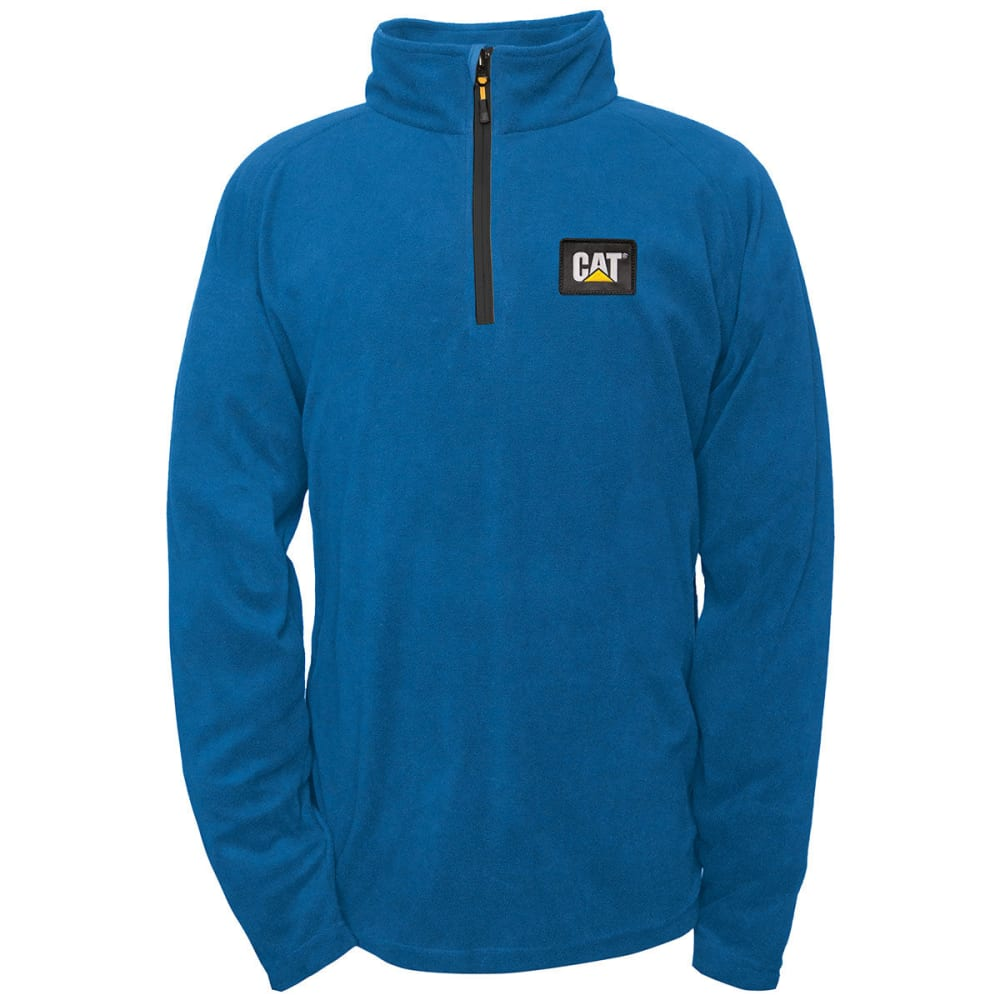 CATERPILLAR Men's Concord Fleece Pullover - Blue, M