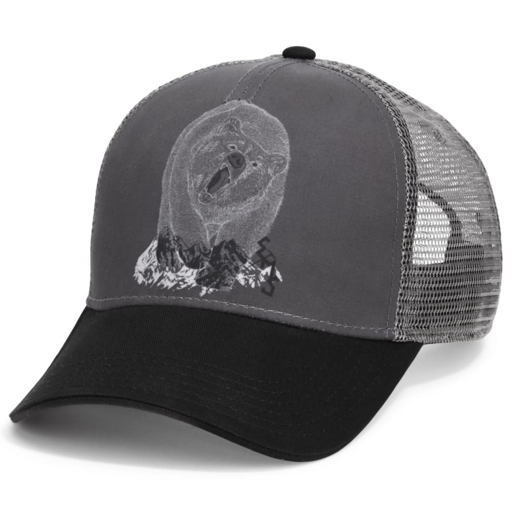 Ems(R) Men's Roar Trucker Hat - Black, ONESIZE