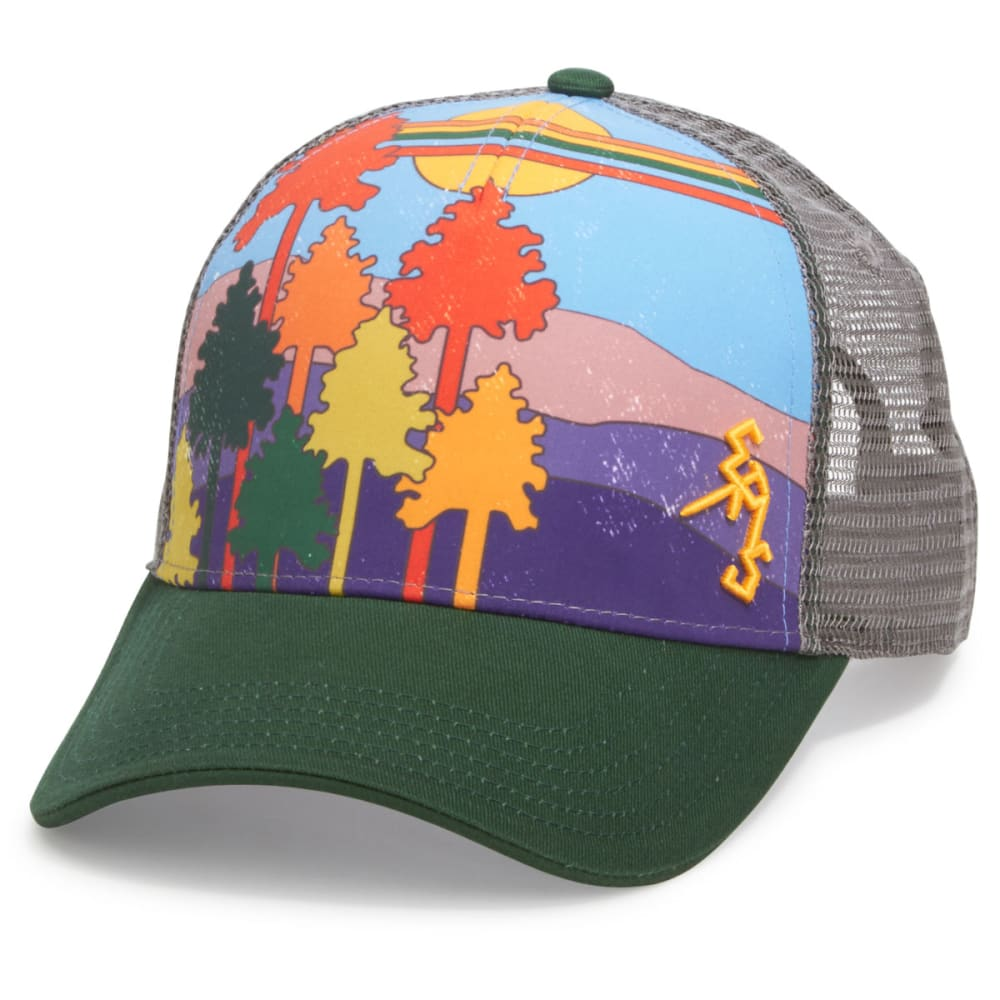 Ems(R) Men's '80S Trucker Hat - Green, ONESIZE