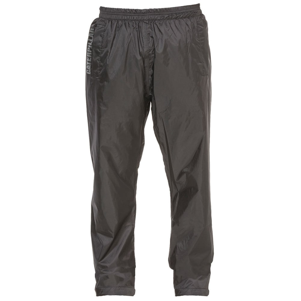 CATERPILLAR Men's Typhoon Packable Rain Pants - Black, M