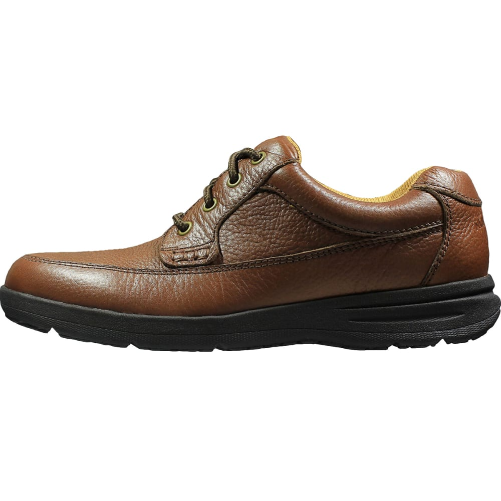 NUNN BUSH Men's Cam Moc Toe Oxford Shoes, Wide - COGNAC