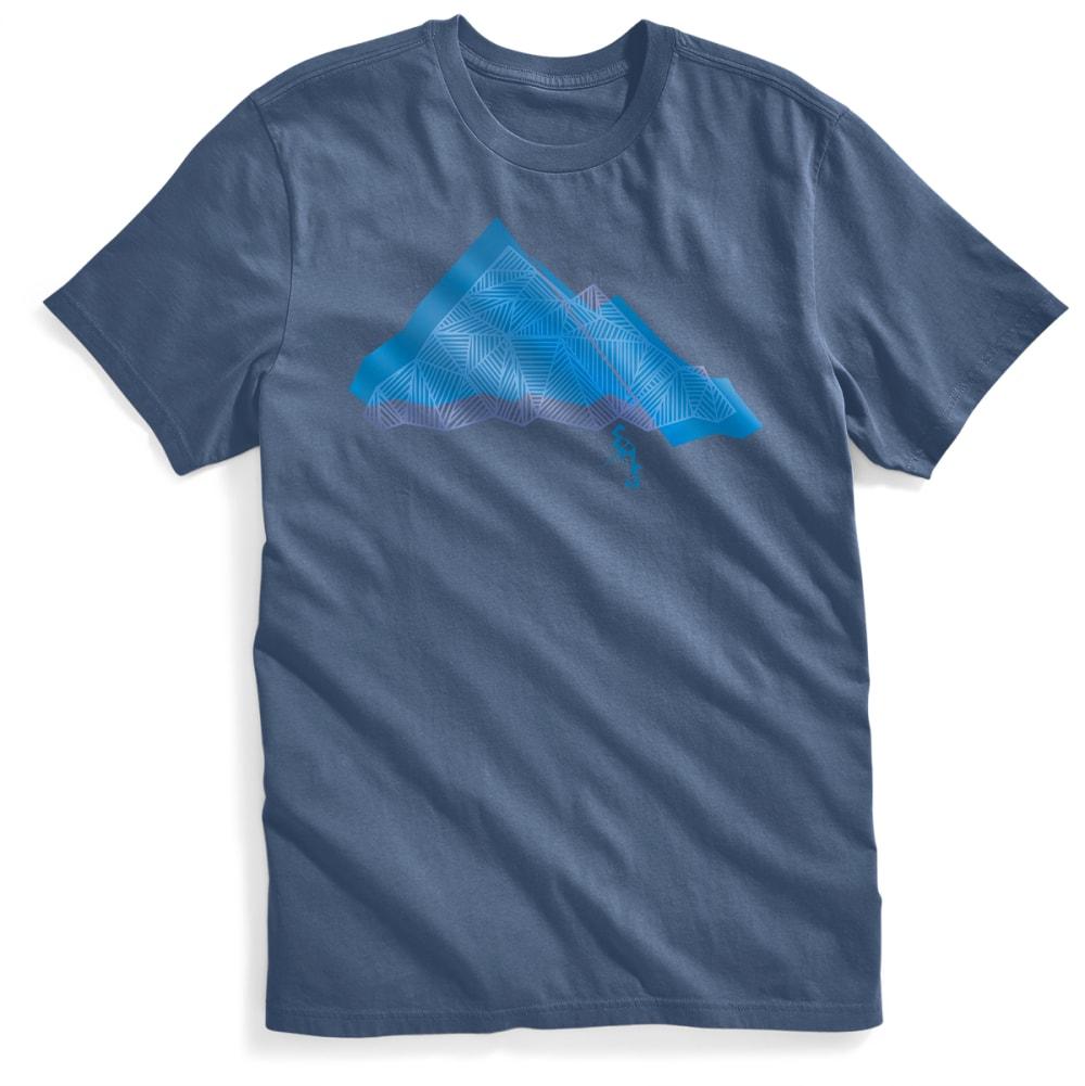 Ems(R) Men's Geo Summit Graphic Tee - Blue, S