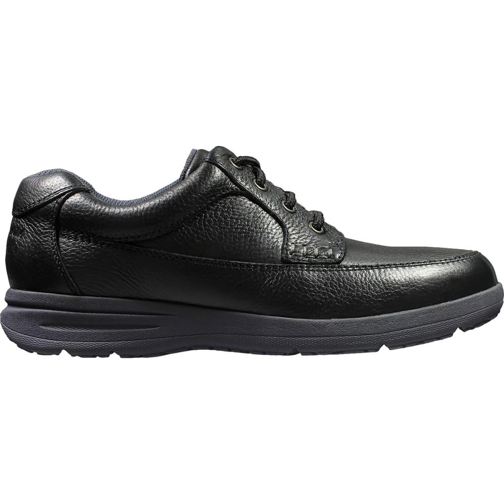 NUNN BUSH Men's Cam Moc Toe Oxford Shoes, Extra Wide - BLACK