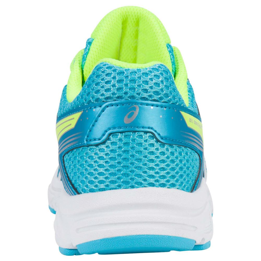 ASICS Girls' Grade School GEL-Contend 4 Running Shoes, Aquamarine/White/Yellow - BLUE