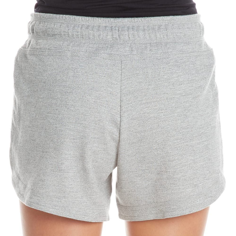 HARMONY AND BALANCE Women's French Terry Shorts - GREY HTR-A