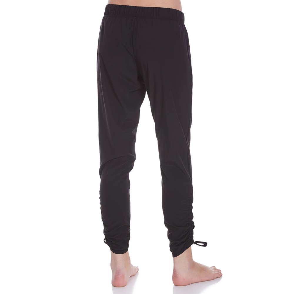 GAIAM Women's Lola Harem Pants - BLACK-S009